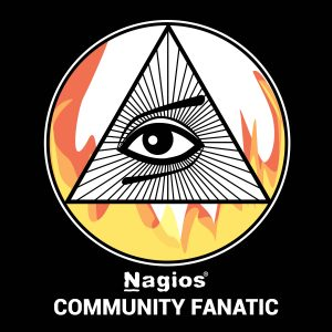 Nagios Community Fanatic Badge